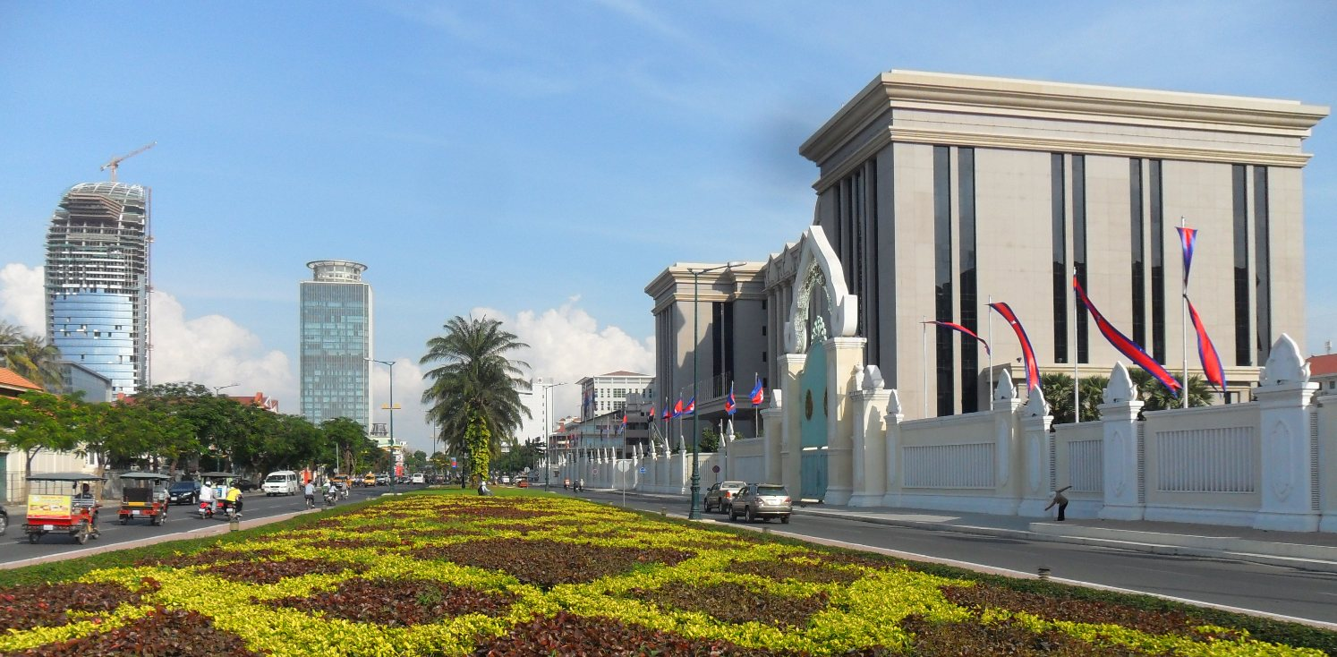 國人瘋迷東南亞不動產,金邊預售屋超過6成都是由台灣人買賣。(截取自維基百科)