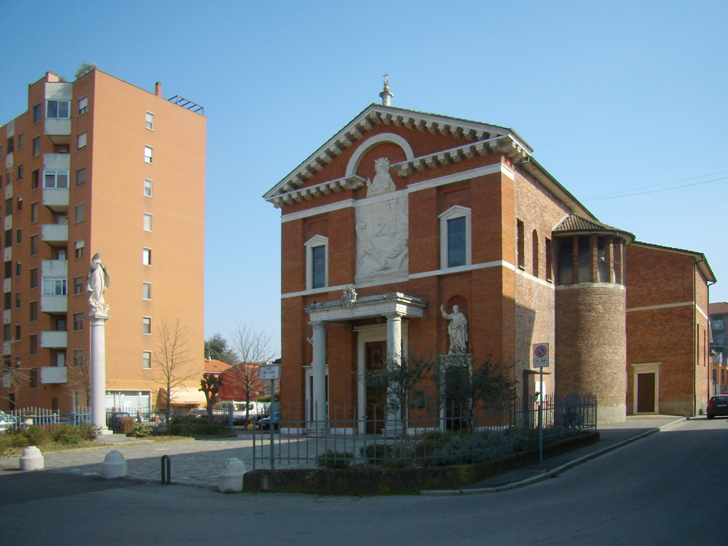 Chiesa dei santi pietro e paolo san giuliano milanese - Piastrelle san giuliano milanese ...