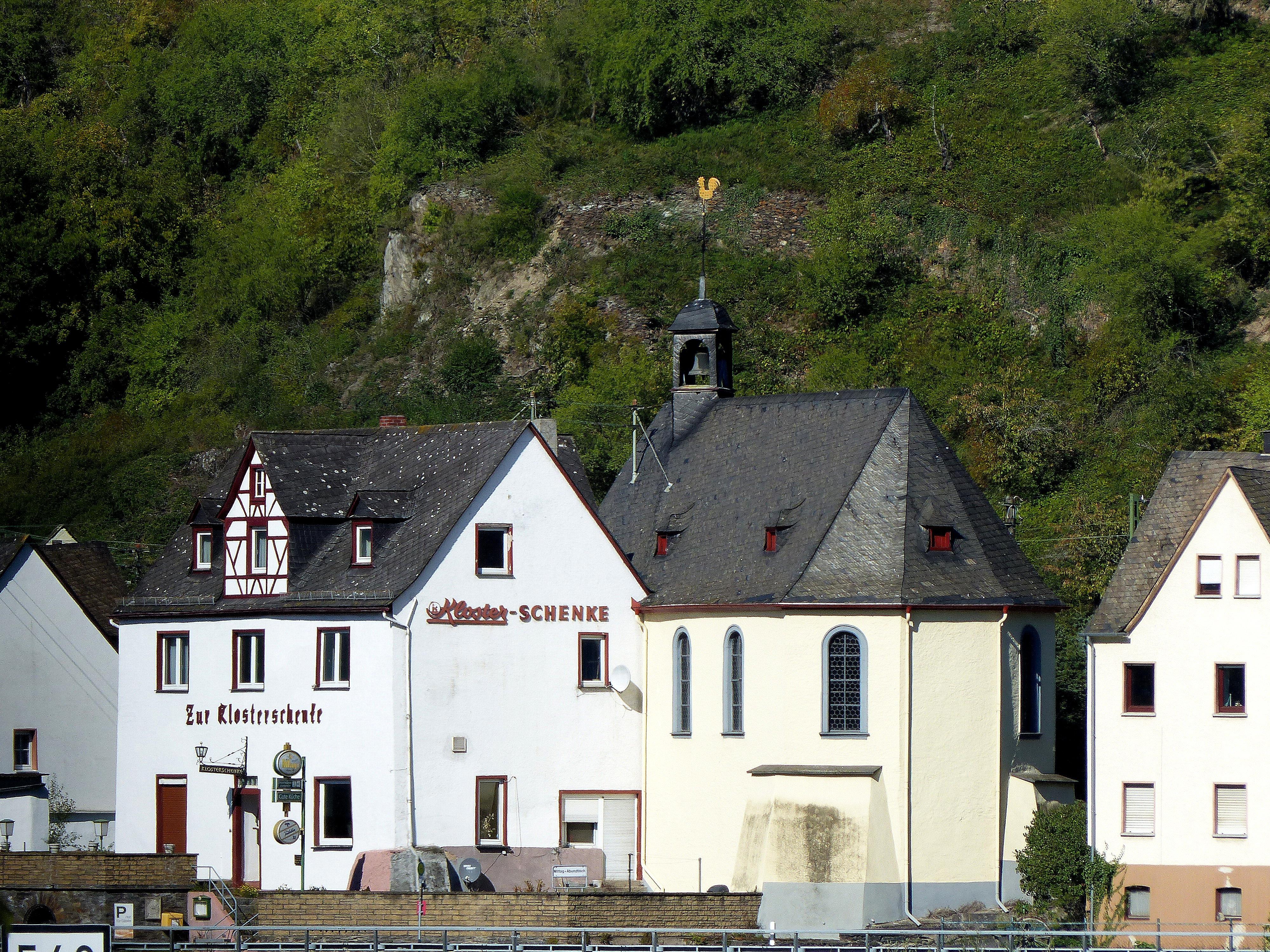 File:Sankt Goarshausen, Ortsteil Wellmich-Ehrenthal - Gasthof ...