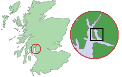 Scotland Map (Firth of Clyde Detail) Gare Loch.png