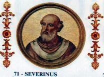Pope Severinus pope