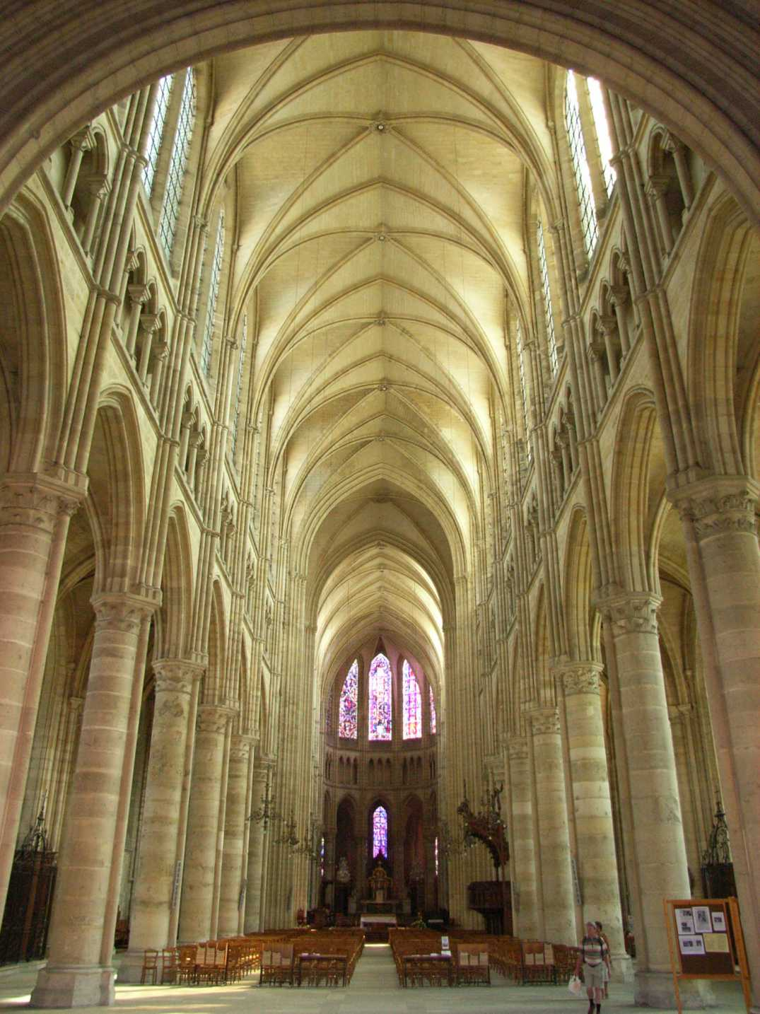 Soissons France  city photos : Soissons cathedral Wikimedia Commons