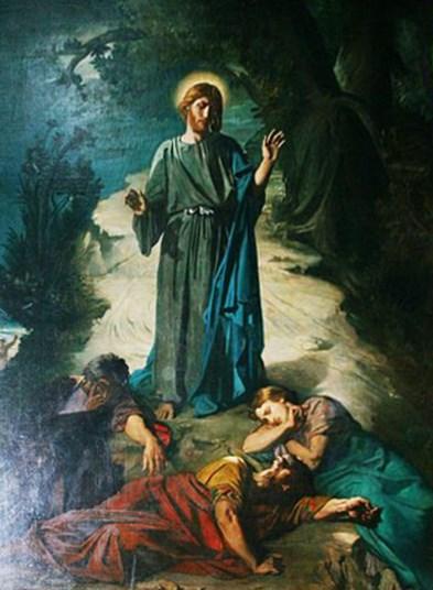 File souillac abbatiale sainte marie th odore chasseriau for Au jardin des oliviers