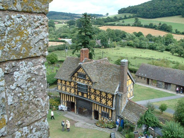 Stokesay Castle - geograph.org.uk - 5670