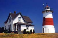 Stratford Point Light lighthouse in Stratford, Connecticut, United States