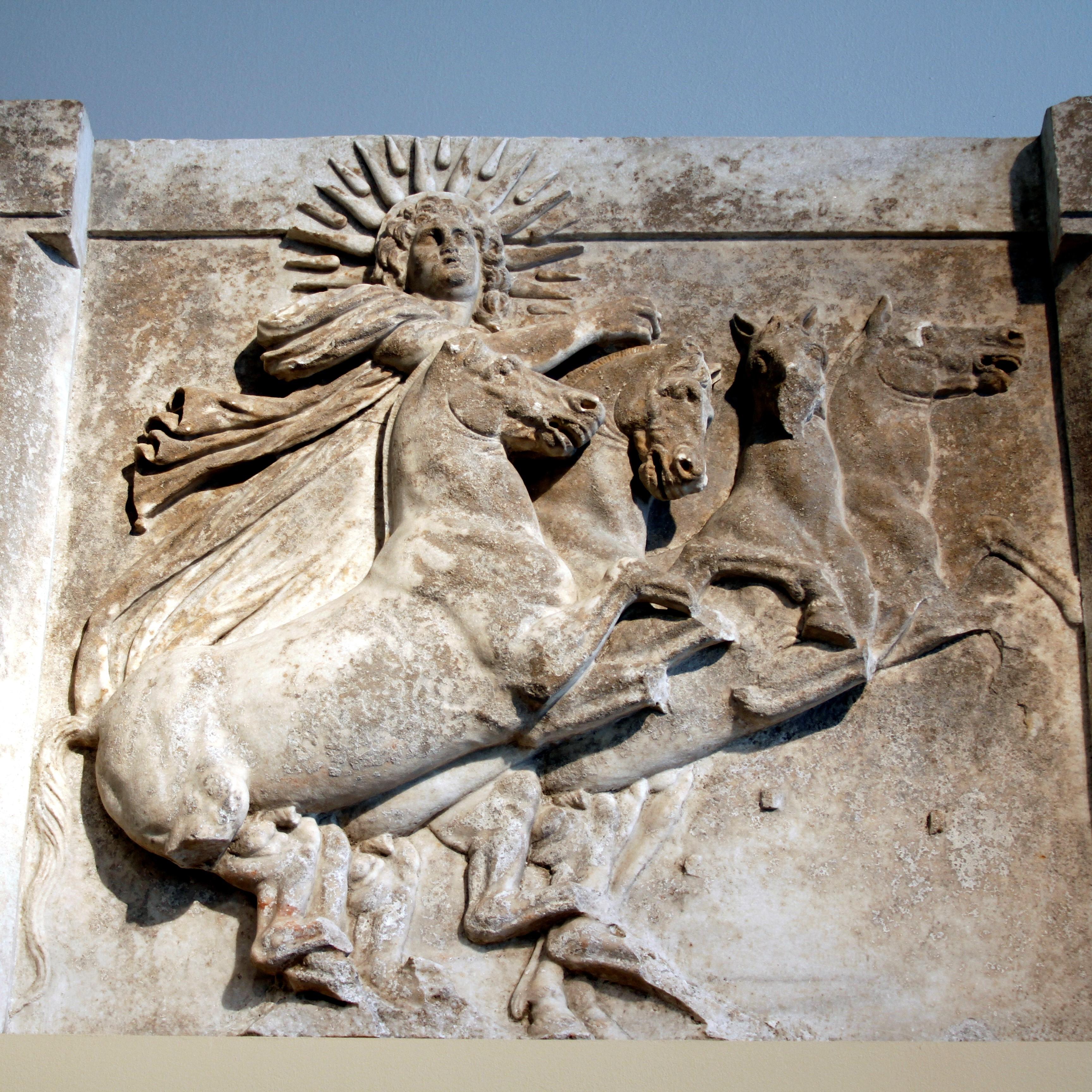 FileSun God Helios Relief
