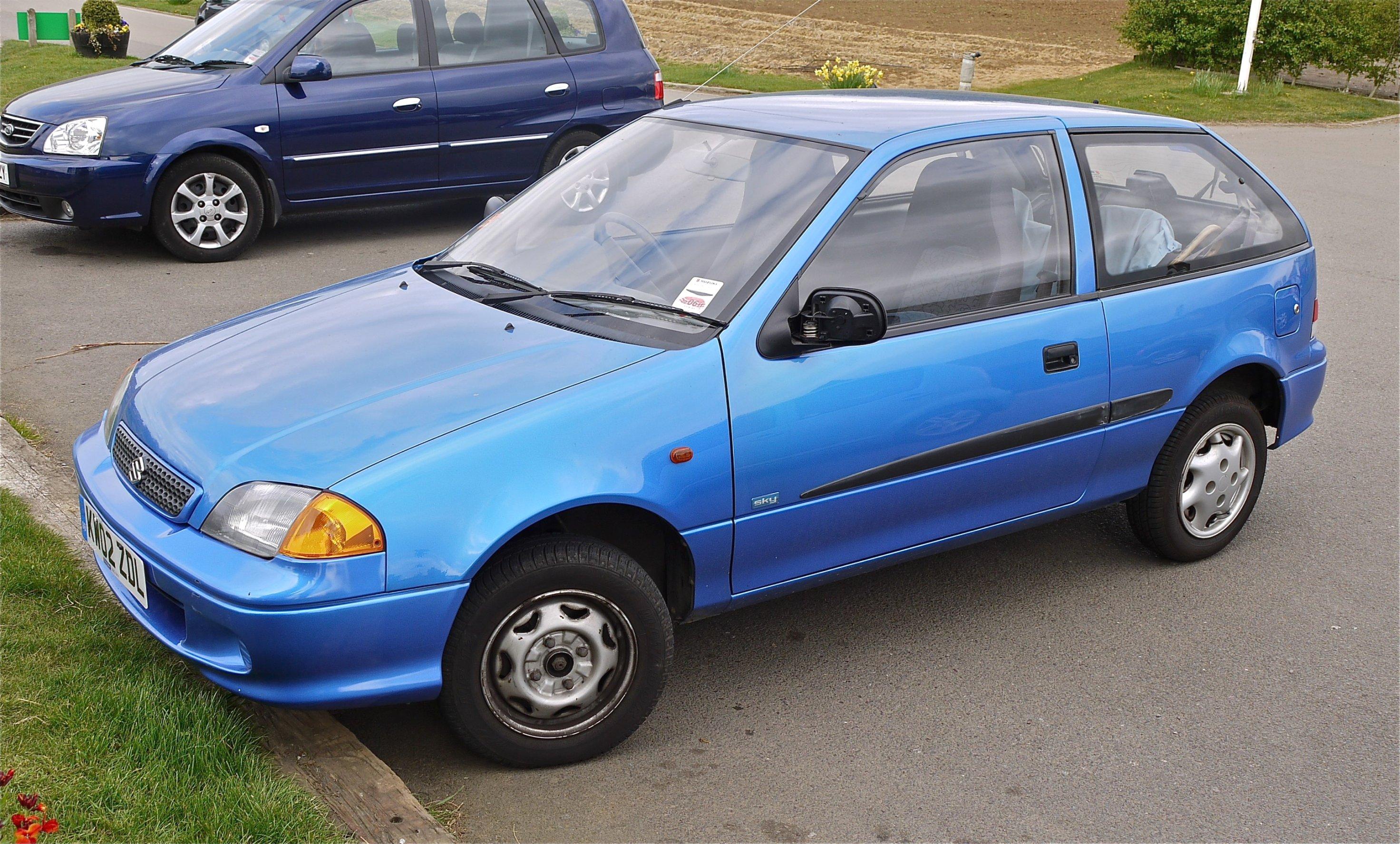 automotiq suzuki splash gls 08 sonic blaue fu matten mit blauem rand. Black Bedroom Furniture Sets. Home Design Ideas
