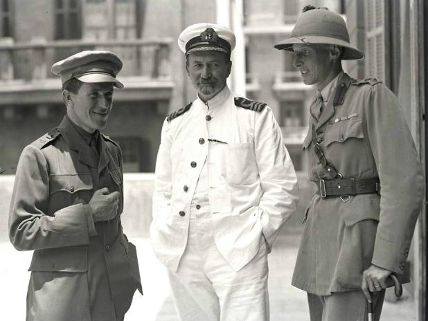 TEL, D.G. Hogarth and Alan Dawnay