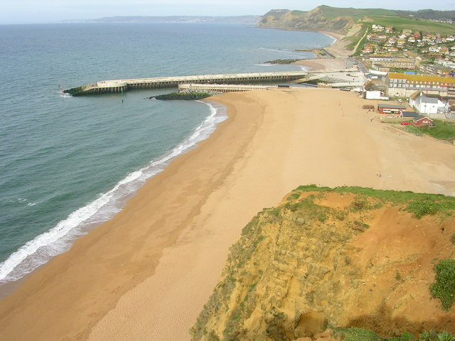 The Beach at West Bay - geograph.org.uk - 239969