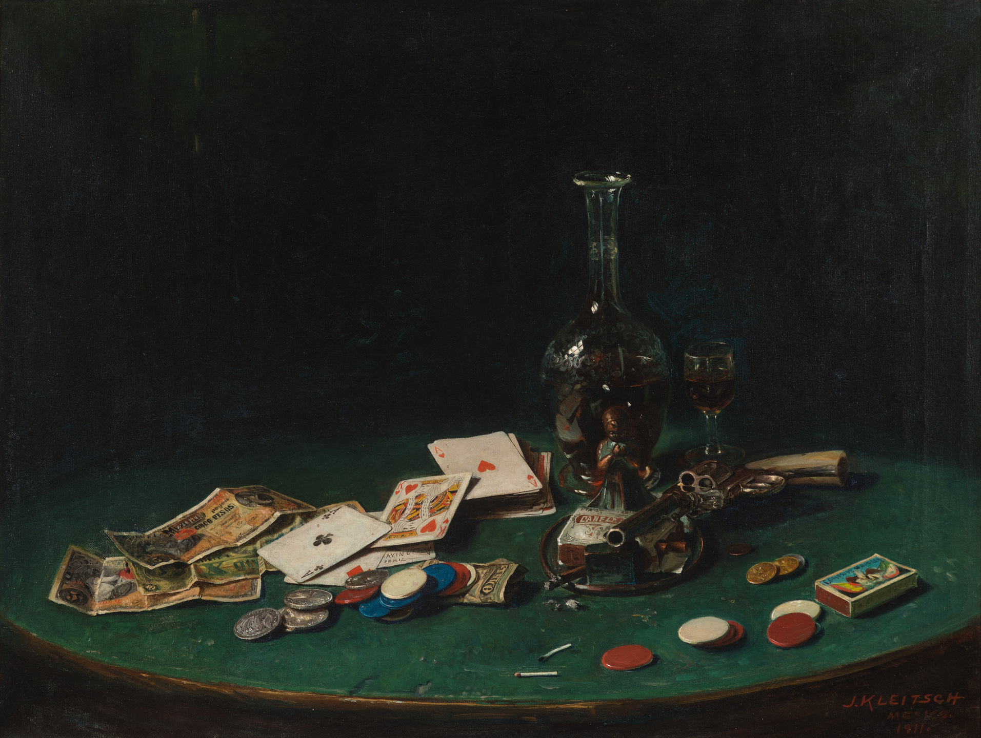 Joseph Kleitsch Oil Painting