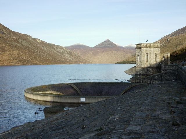 The Silent Valley Reservoir - geograph.org.uk - 1638226