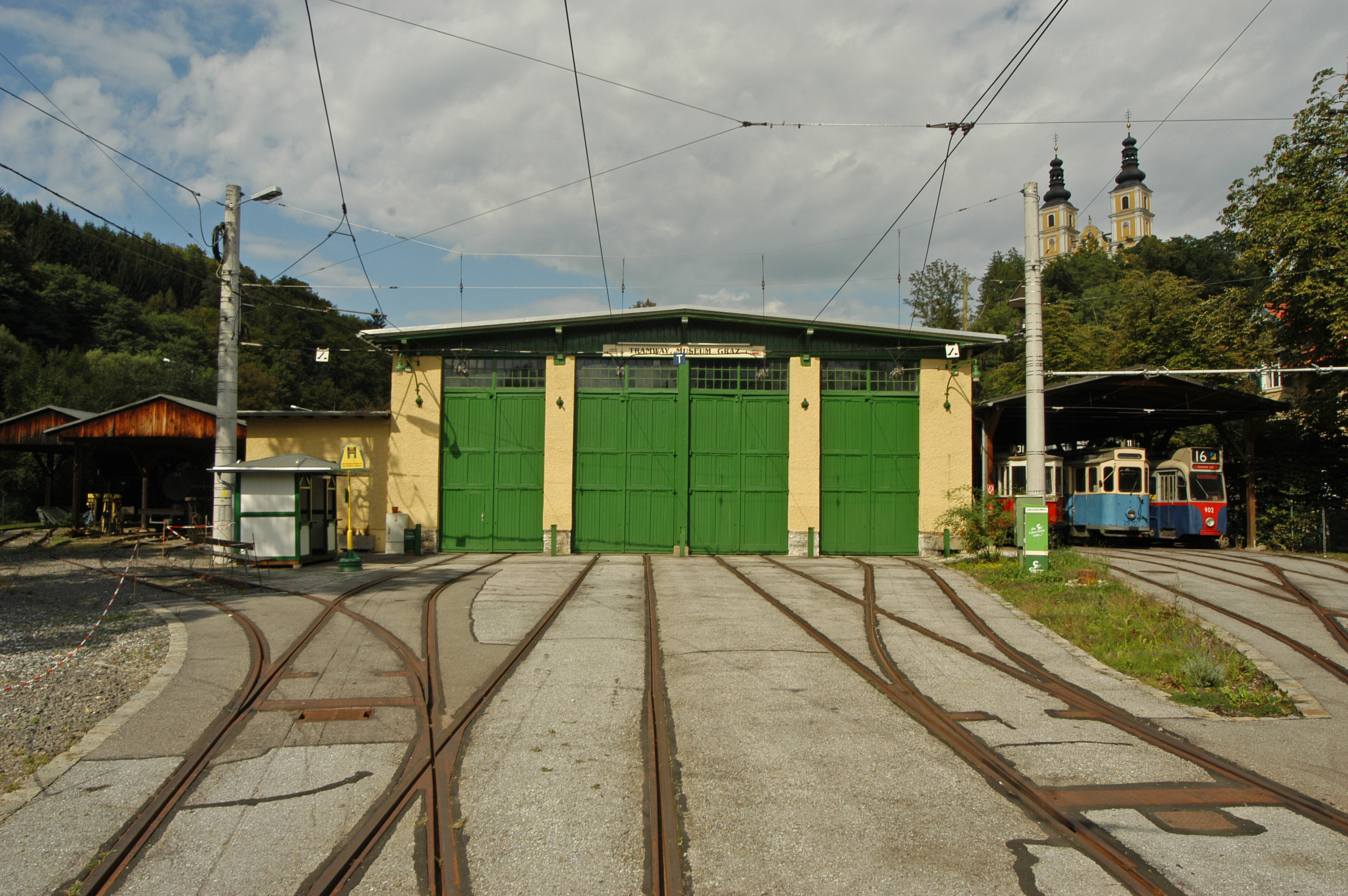 Tramway-Museum in Mariatrost