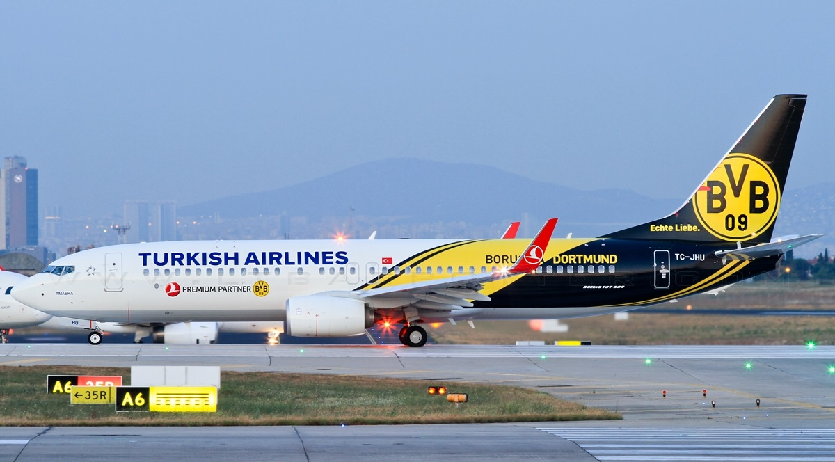 Turkish Airlines Turkish_Airlines_TC-JHU_Borussia_Dortmund