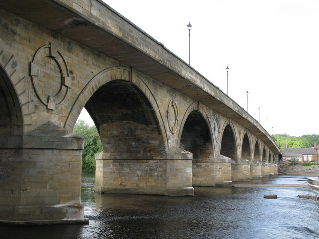 Hexham Bridge Wikipedia