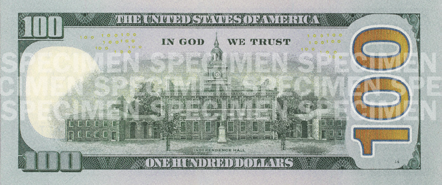 Usa Dollar Bill Series Reverse Wikimedia Mons