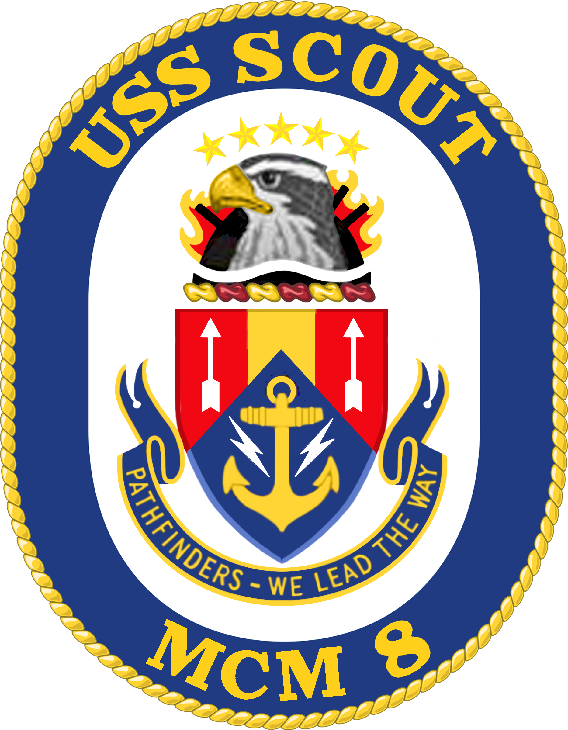 File Uss Scout Mcm 8 Crest Png Wikimedia Commons