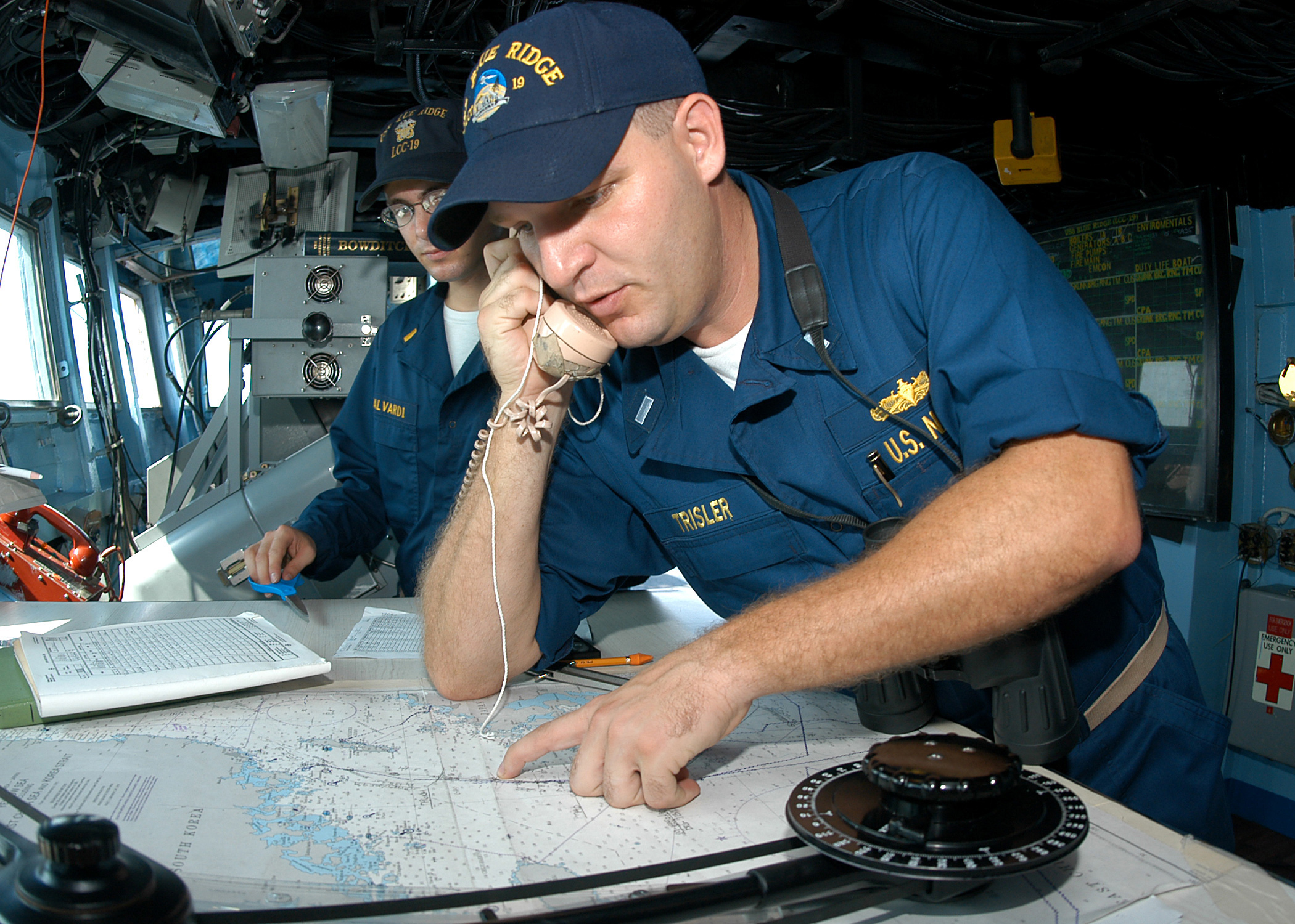 Who Used Nautical Charts?