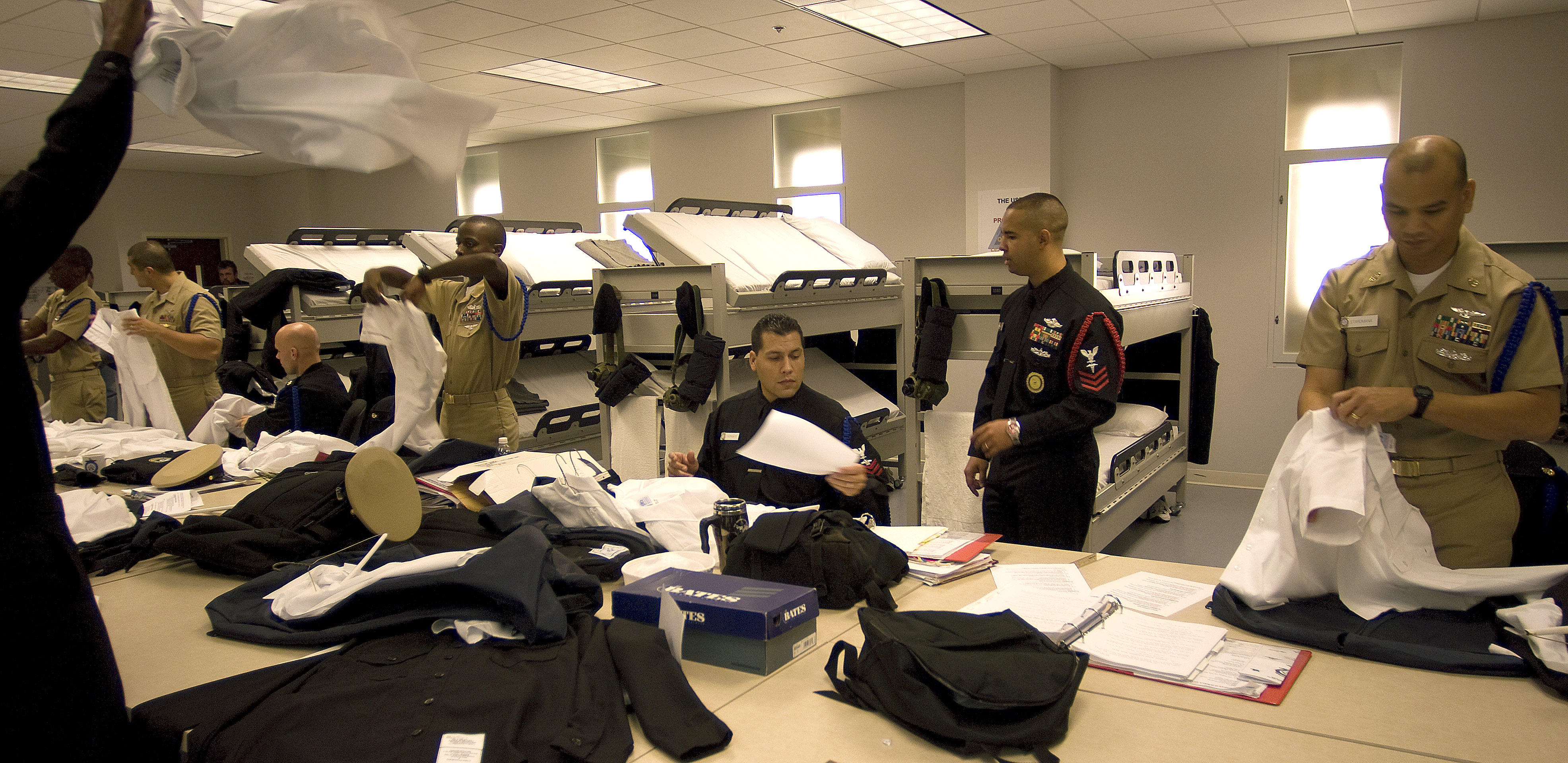 ... stencil and store uniforms at Recruit Division Commander (RDC).jpg