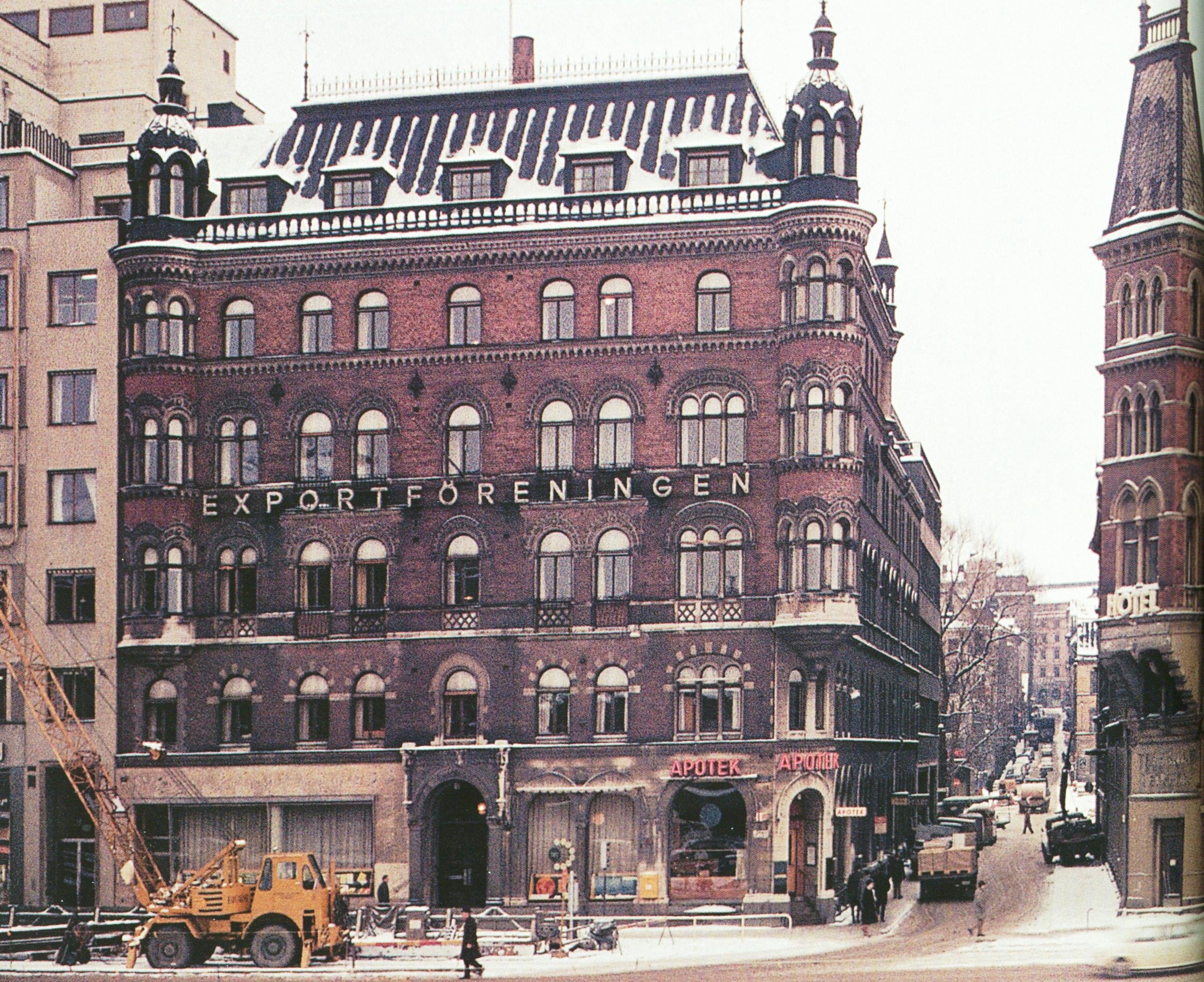 File Vasagatan Vattugatan 1965 Jpg Wikimedia Commons