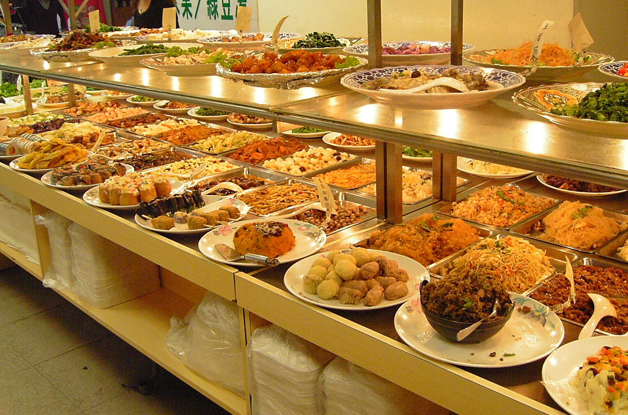 File vegie for Buffet cuisine