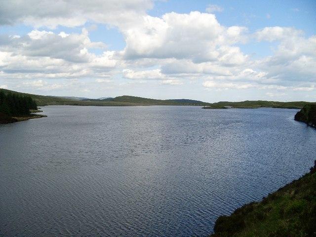 View across Loch Humphrey - geograph.org.uk - 830855