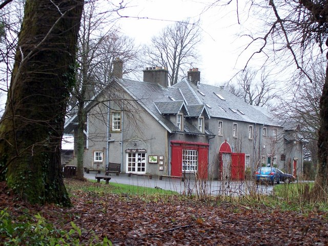 visitor centre at finlaystone estate - geograph.org.uk - 307751.jpg