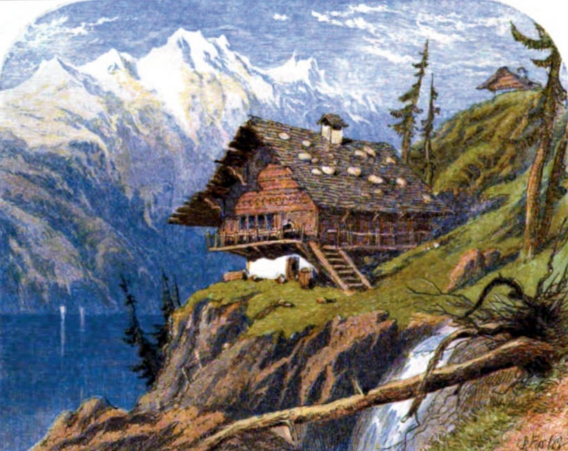 File Where The Bleak Swiss Their Stormy Mansions Tread Jpg
