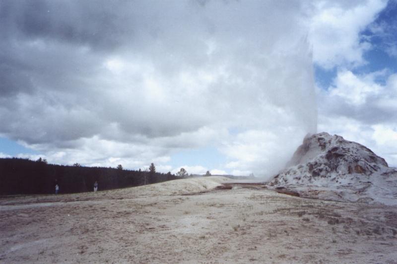 Gejzir White_dome_geyser_eruption