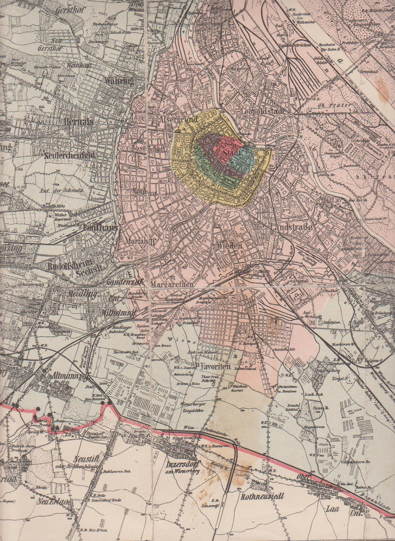 Filewien Stadtplan 1892 Ausschnittjpg Wikimedia Commons