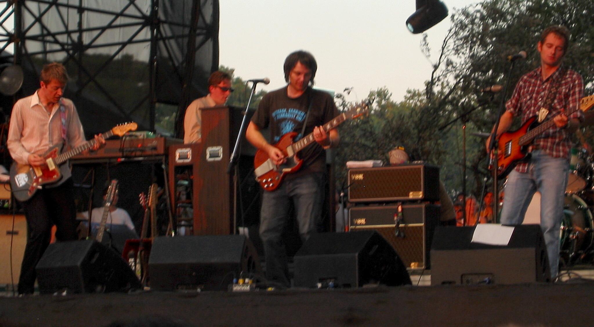 Wilco tocando en vivo en el Austin City Limits Music Festival
