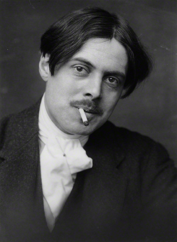 Wyndham Lewis<br>photo by [[George Charles Beresford]], 1913
