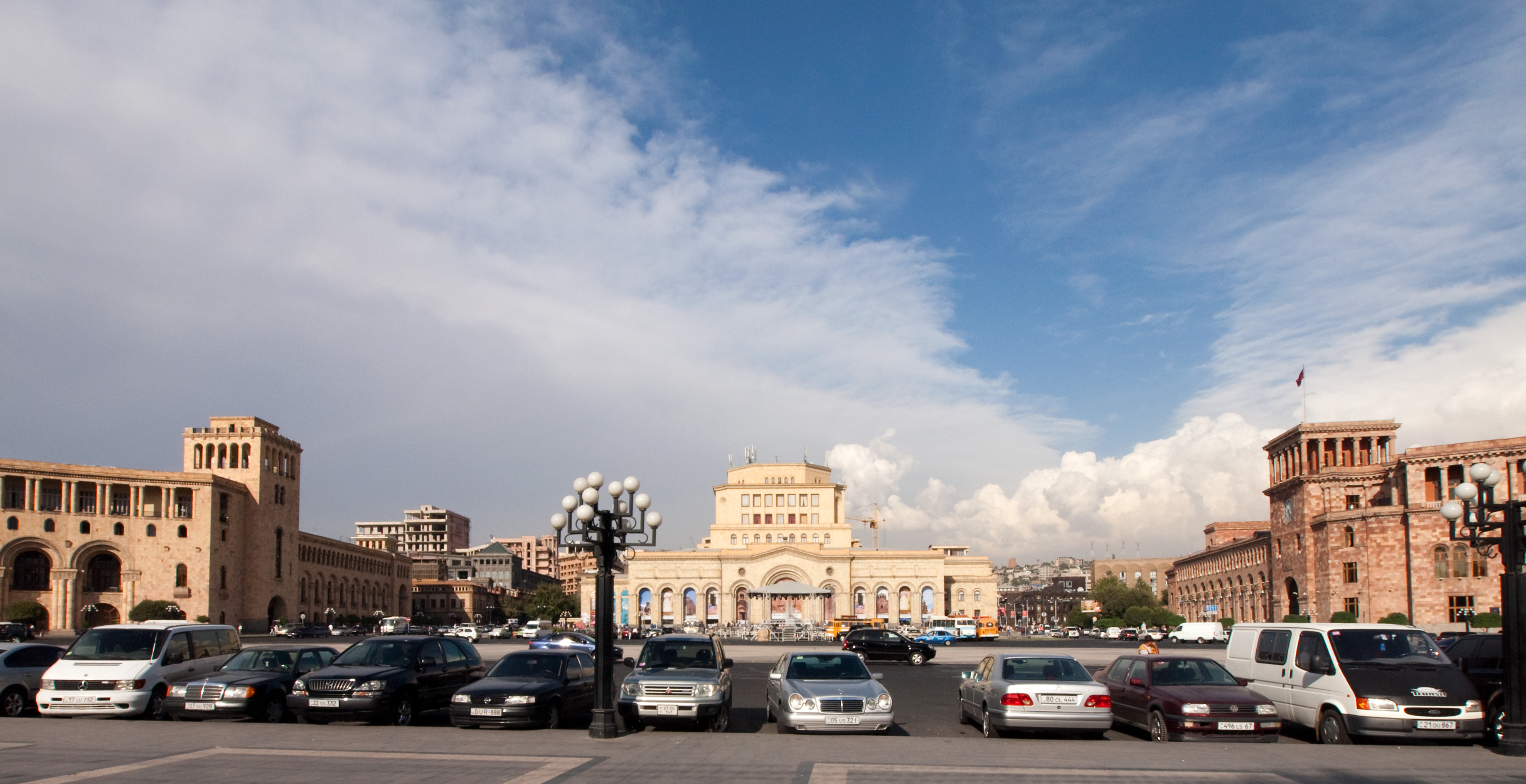 Armenia – Soviet Armenia - The Republic Square in Yerevan
