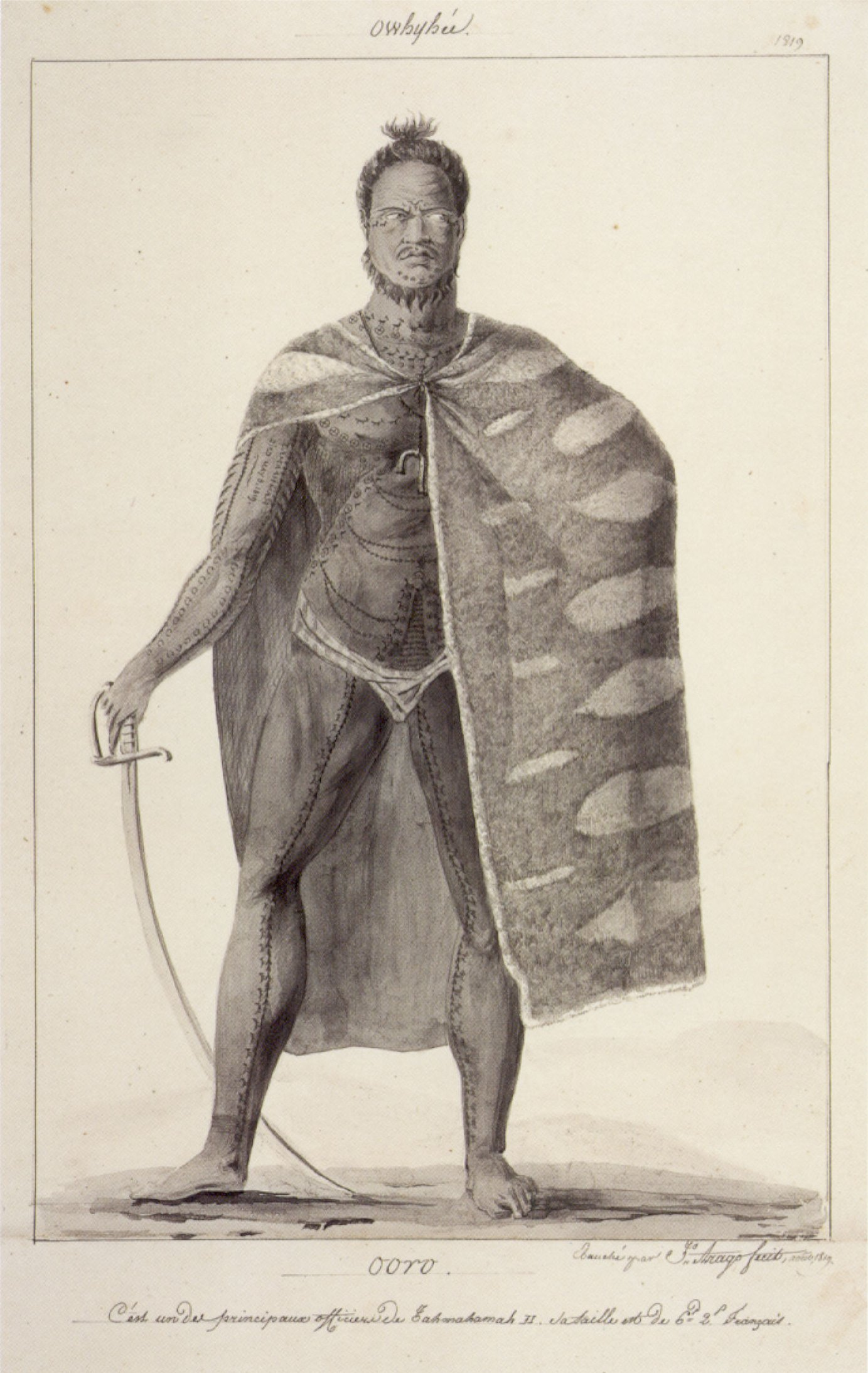 fileooro one of the principal officers of kamehameha ii
