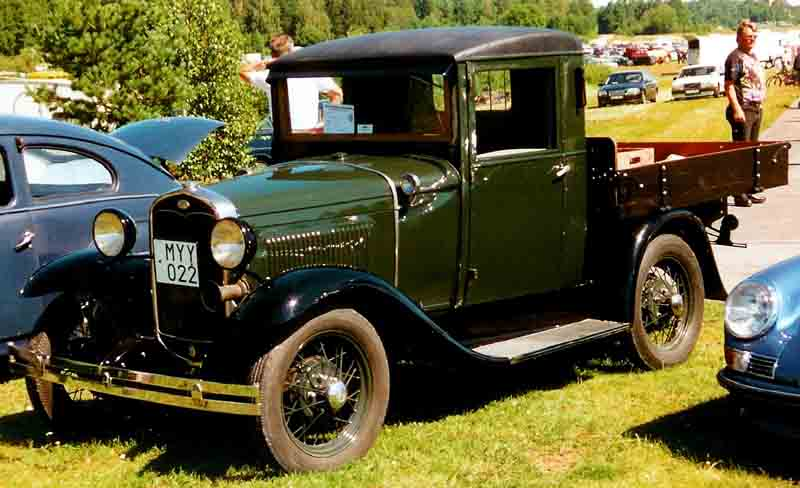 file 1931 ford model a pickup wikimedia commons. Black Bedroom Furniture Sets. Home Design Ideas