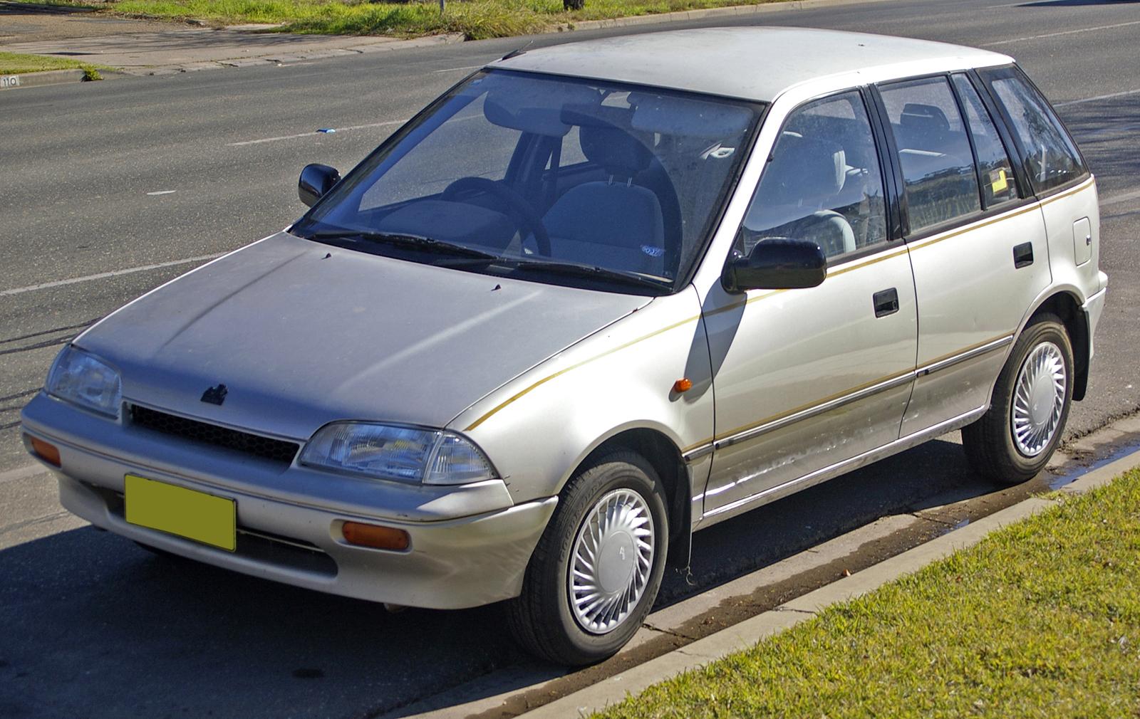 File19891991 Holden Barina MF Limited Edition 5door hatchback