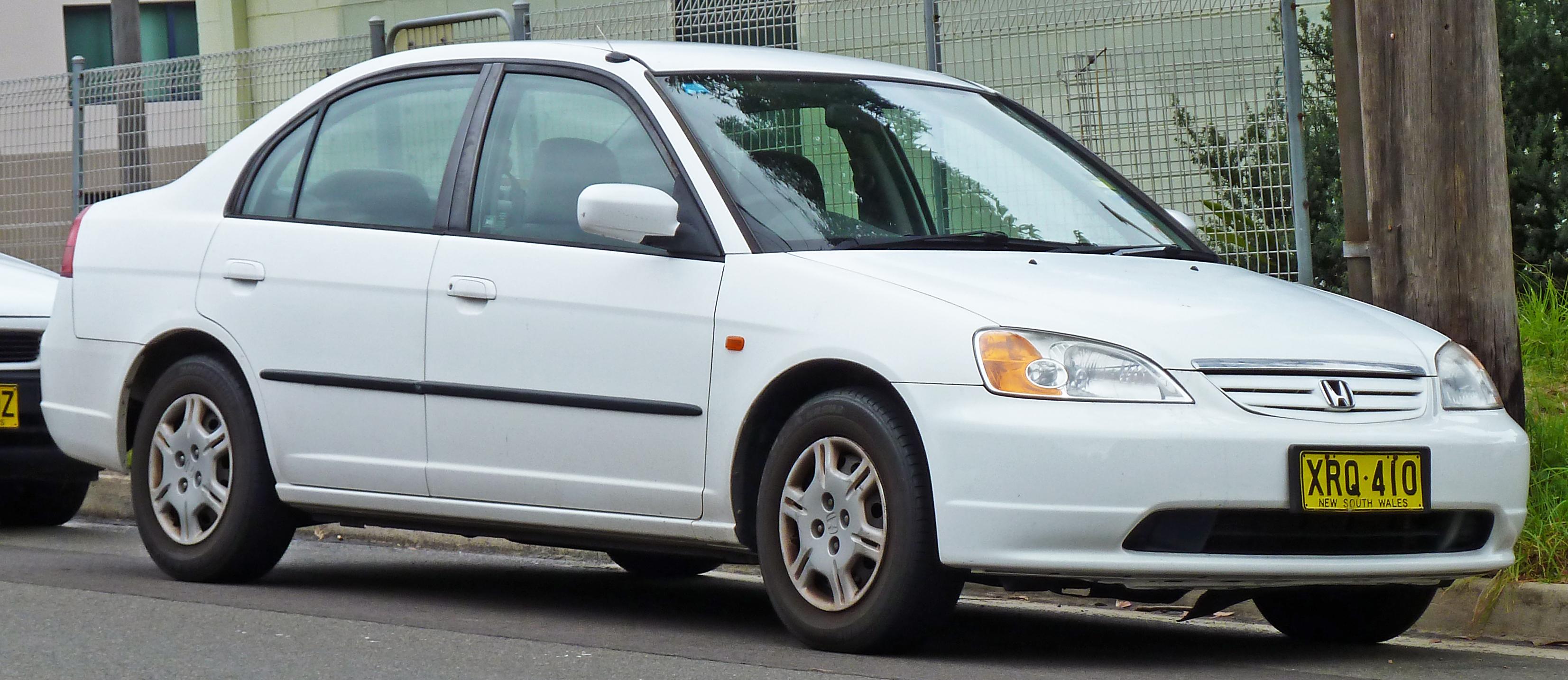 File:2000-2002 Honda Civic GLi sedan 02.jpg - Wikimedia Commons
