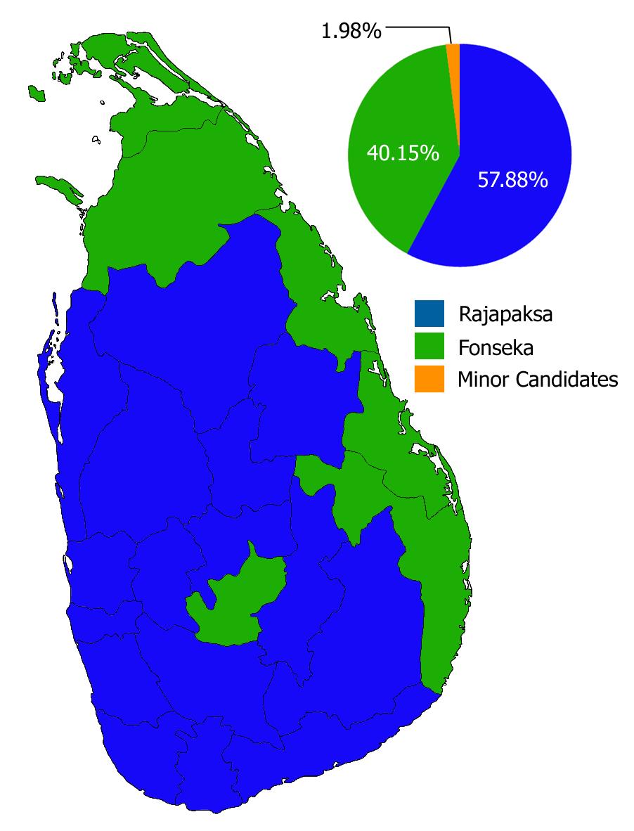 Sri Lankan presidential election, 2010 - Wikipedia, the free.