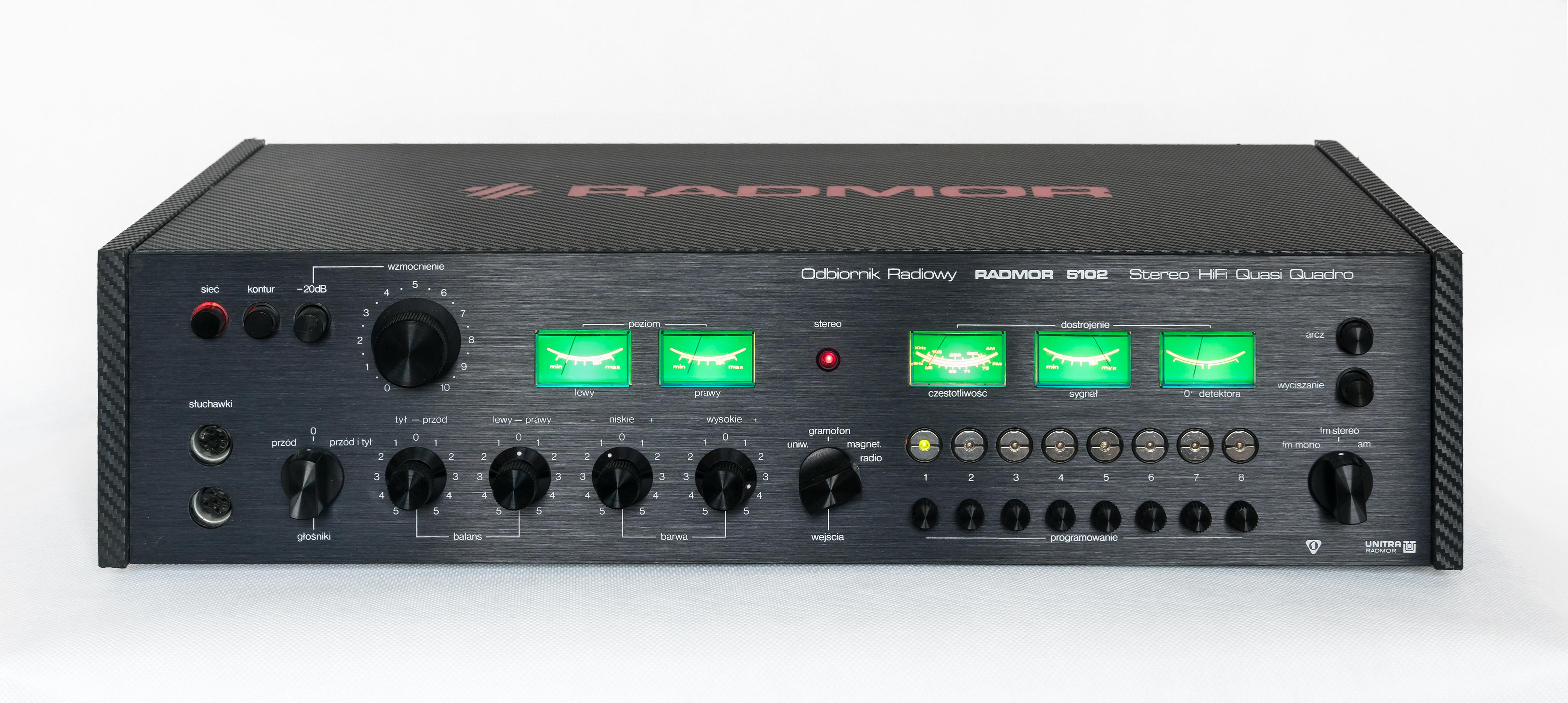 Podłączenie wzmacniacza do podstawowego radia