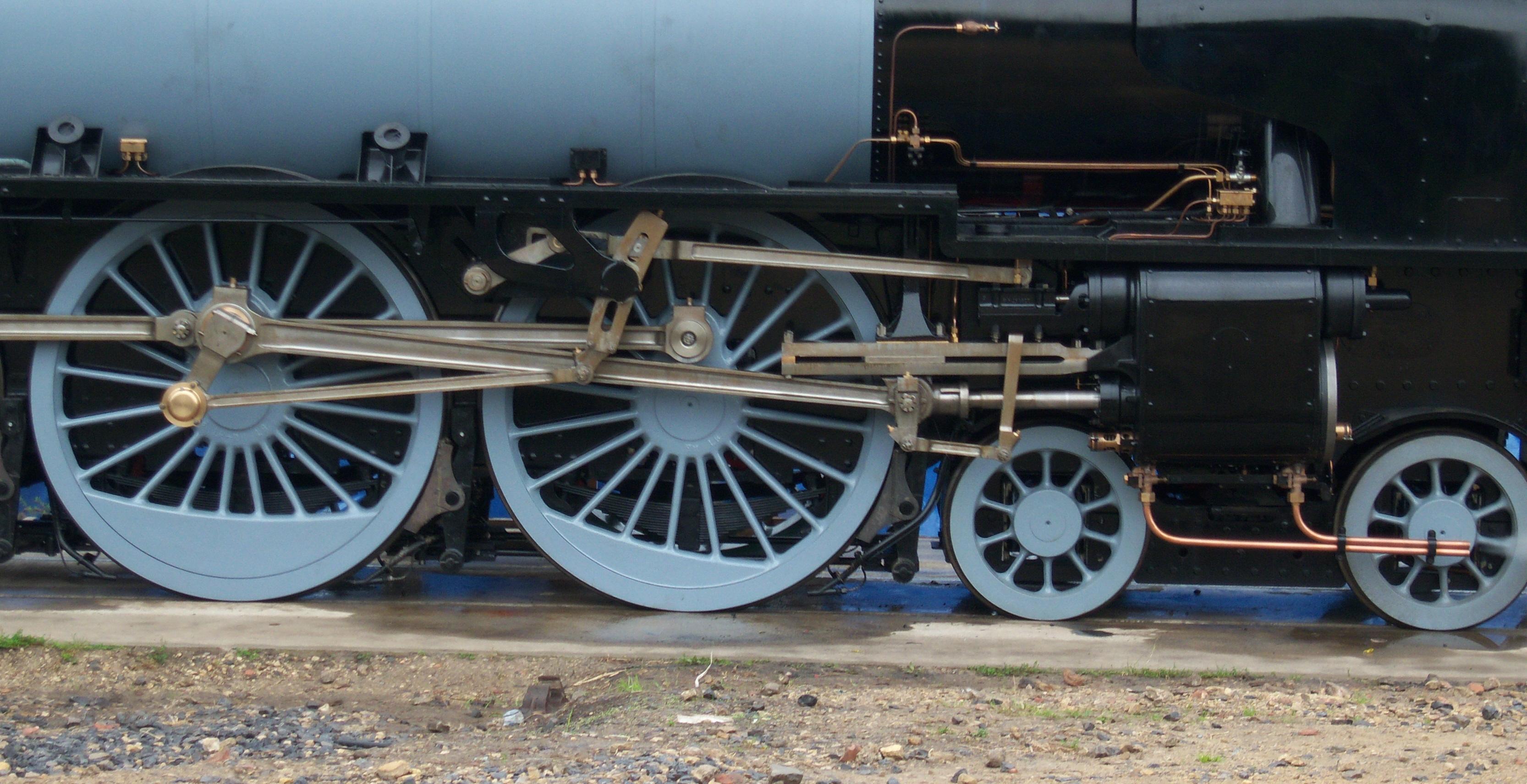 Walschaerts valve gear - Wikipedia