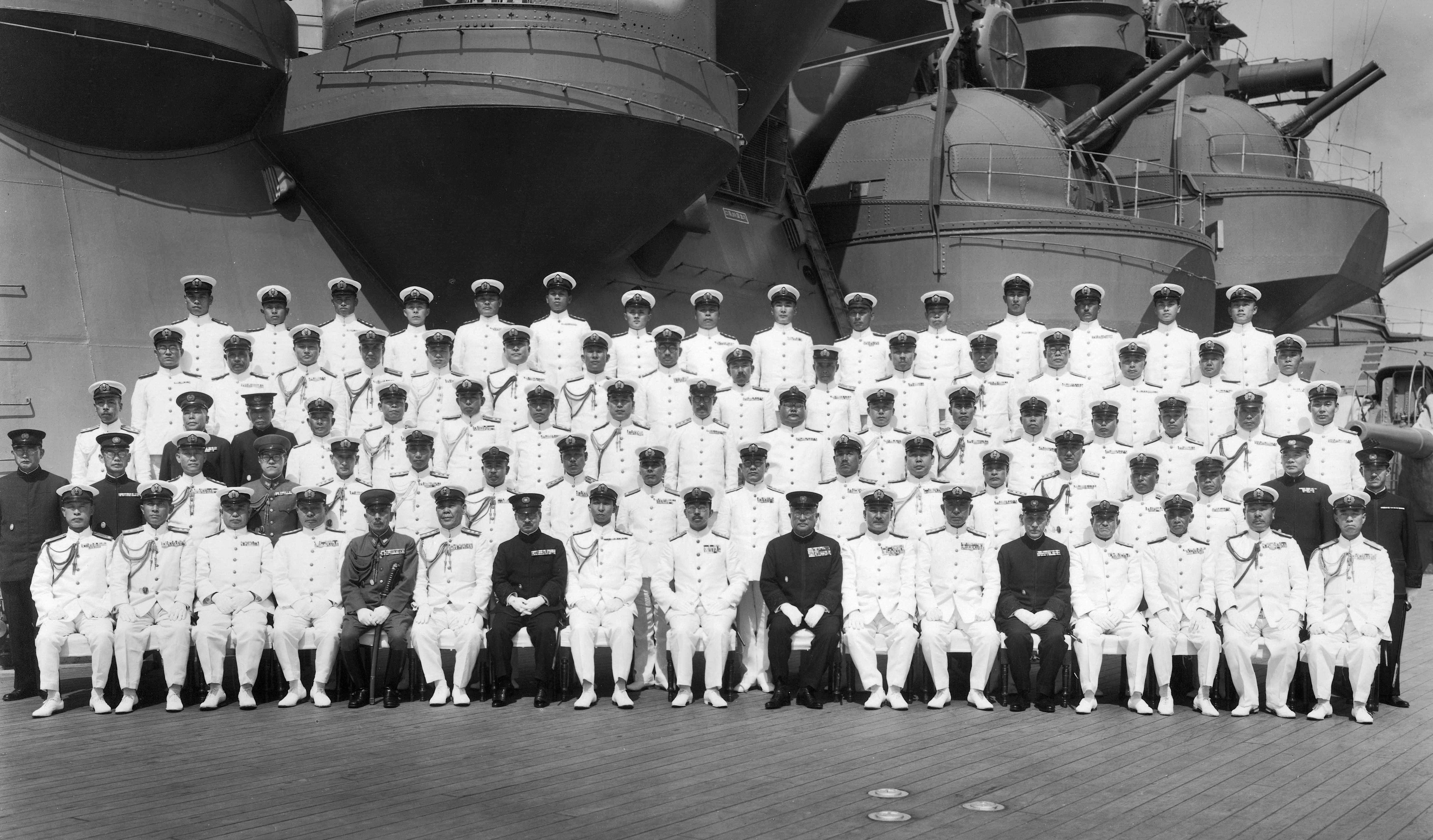 file aboard battleship musashi 24 june 1943 jpg wikimedia commons