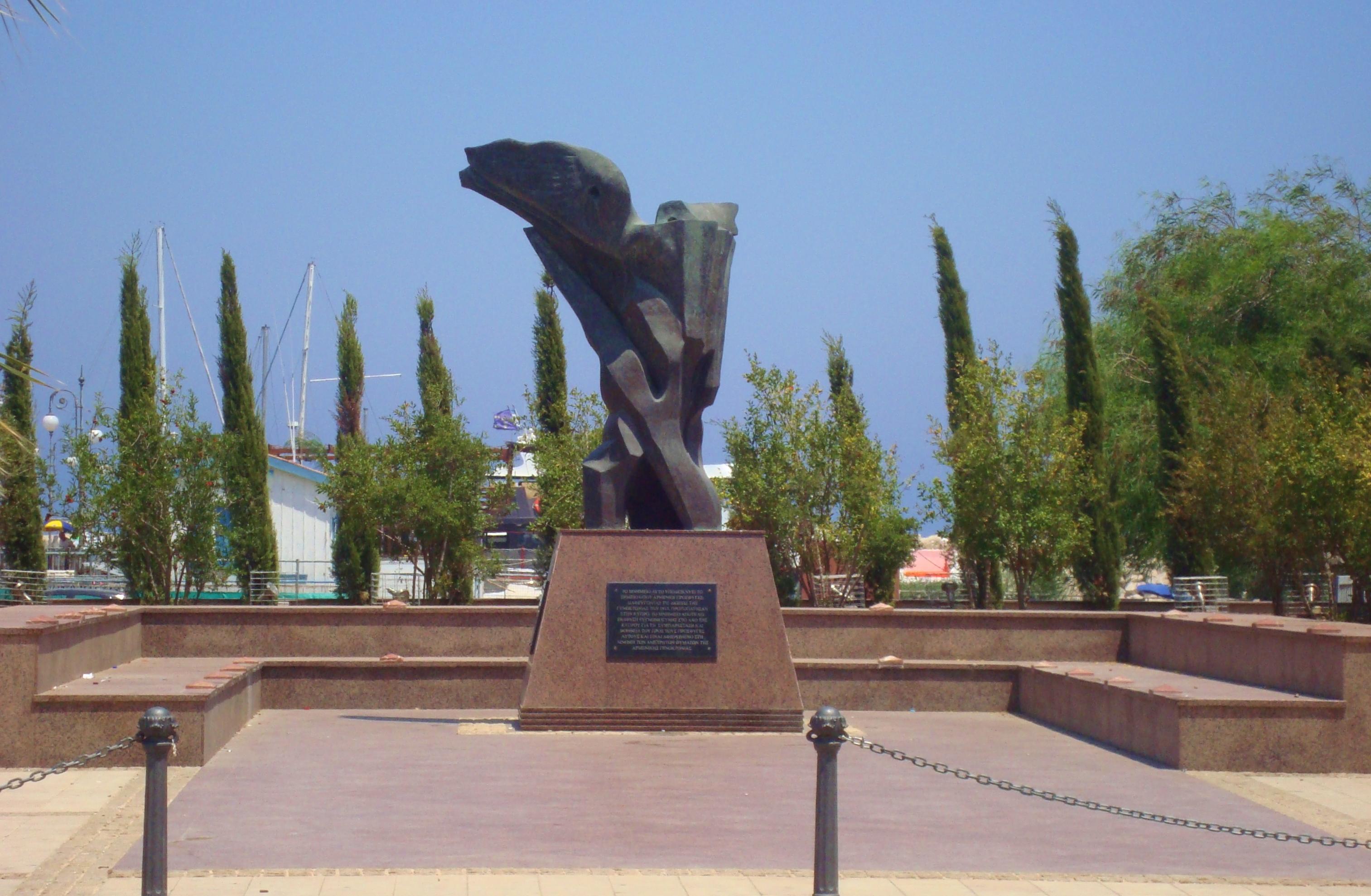 Armenian Genocide Memorial in Larnaca