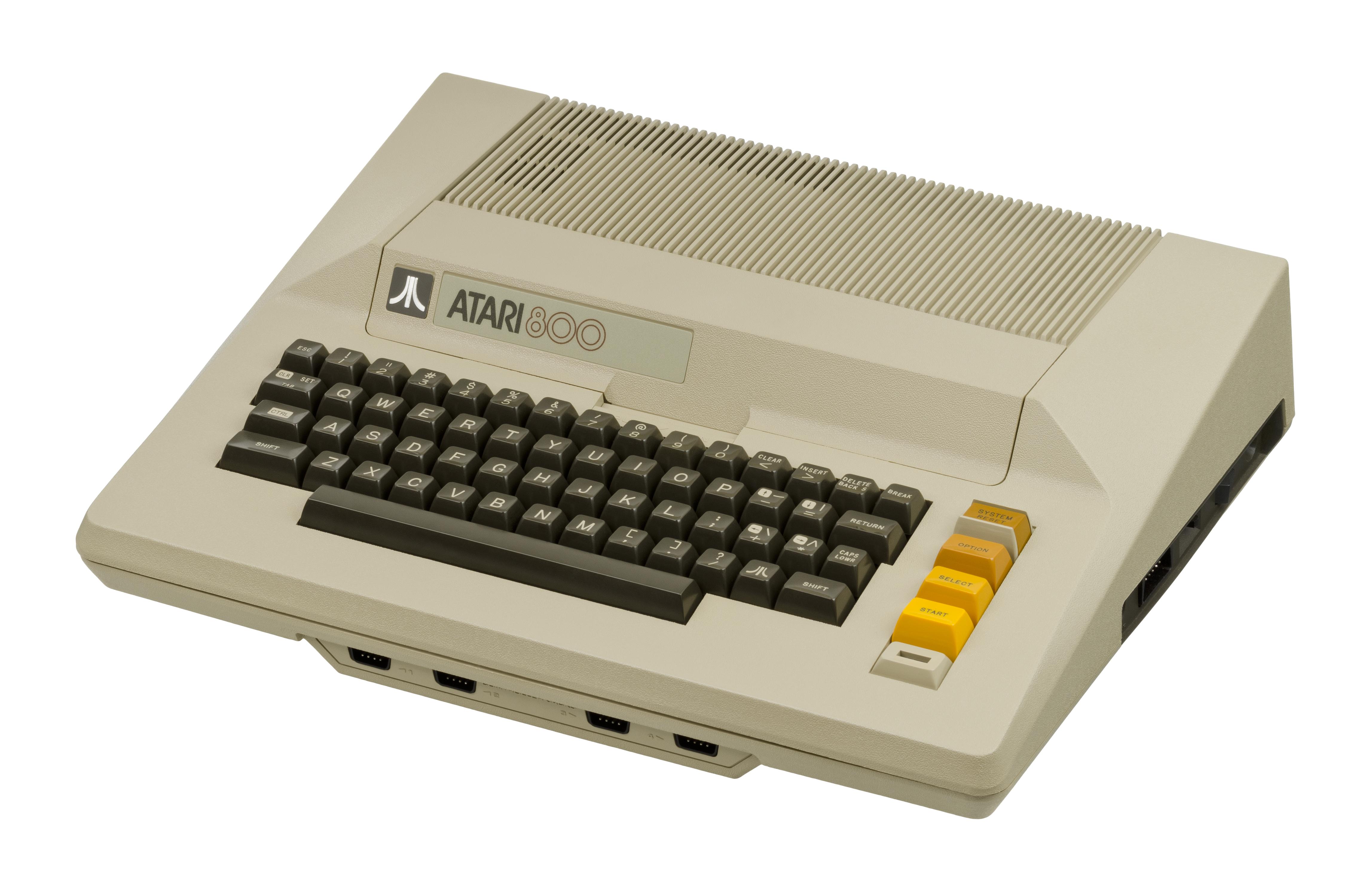 Hook up Atari 400