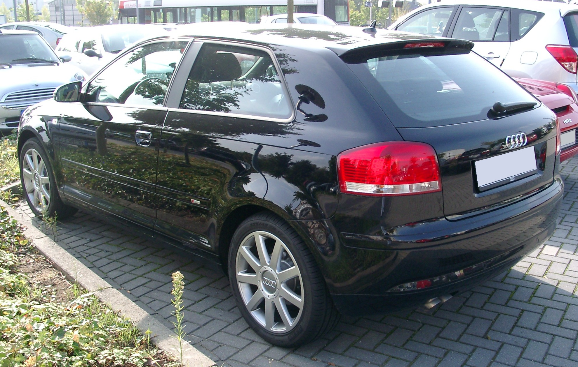 File Audi A3 Rear 20071004 Jpg Wikimedia Commons