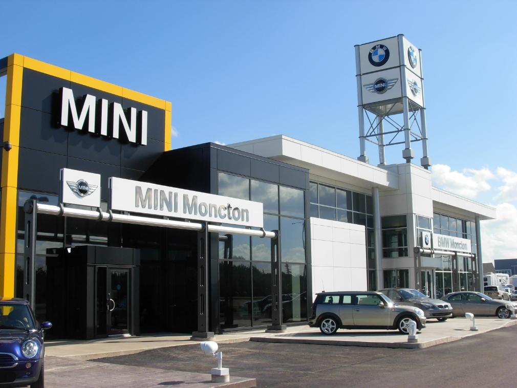 Bmw Dealer Mini Toy Car