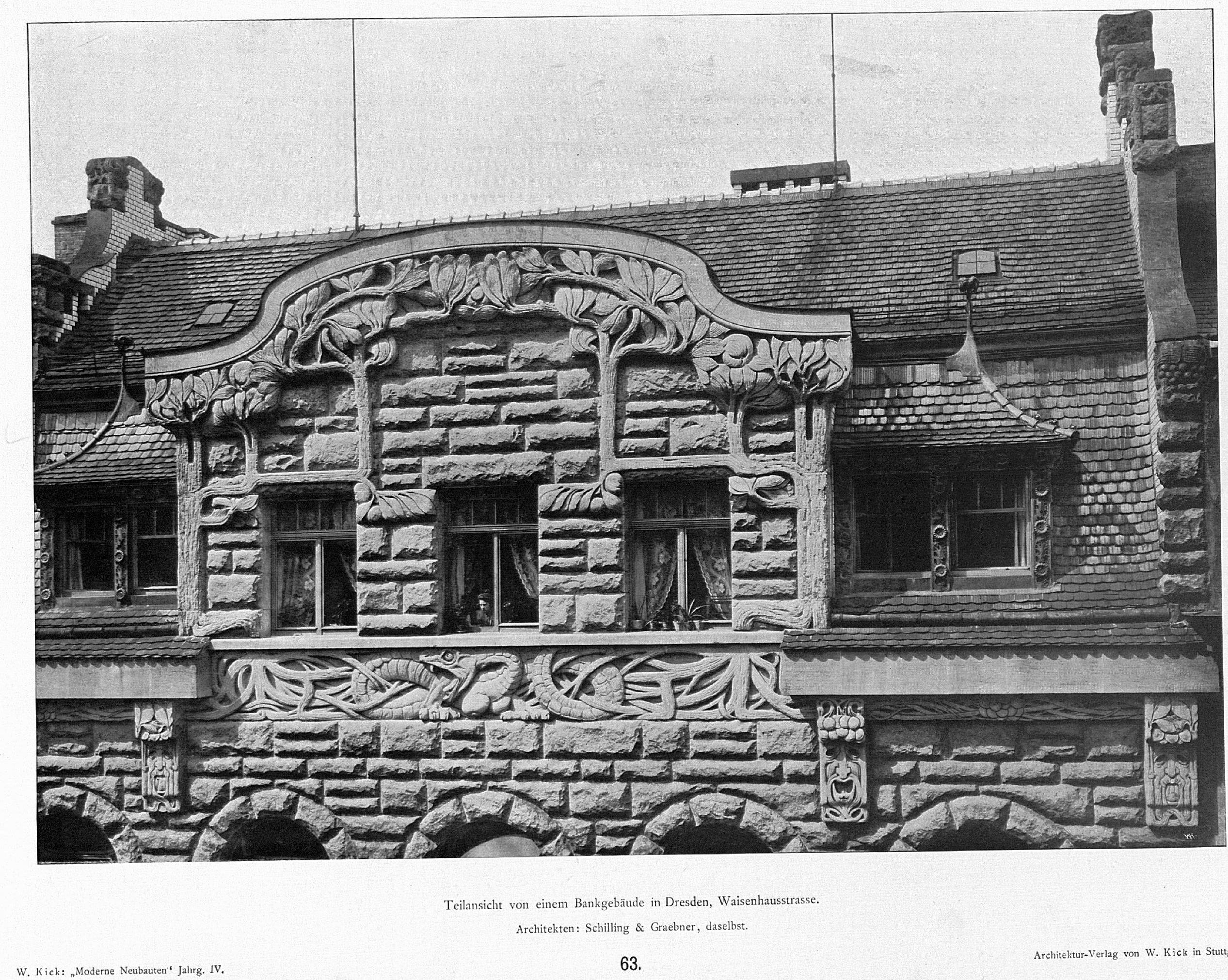 Architekten Dresden file bankgebäude in dresden waisenhausstrasse architekten schilling