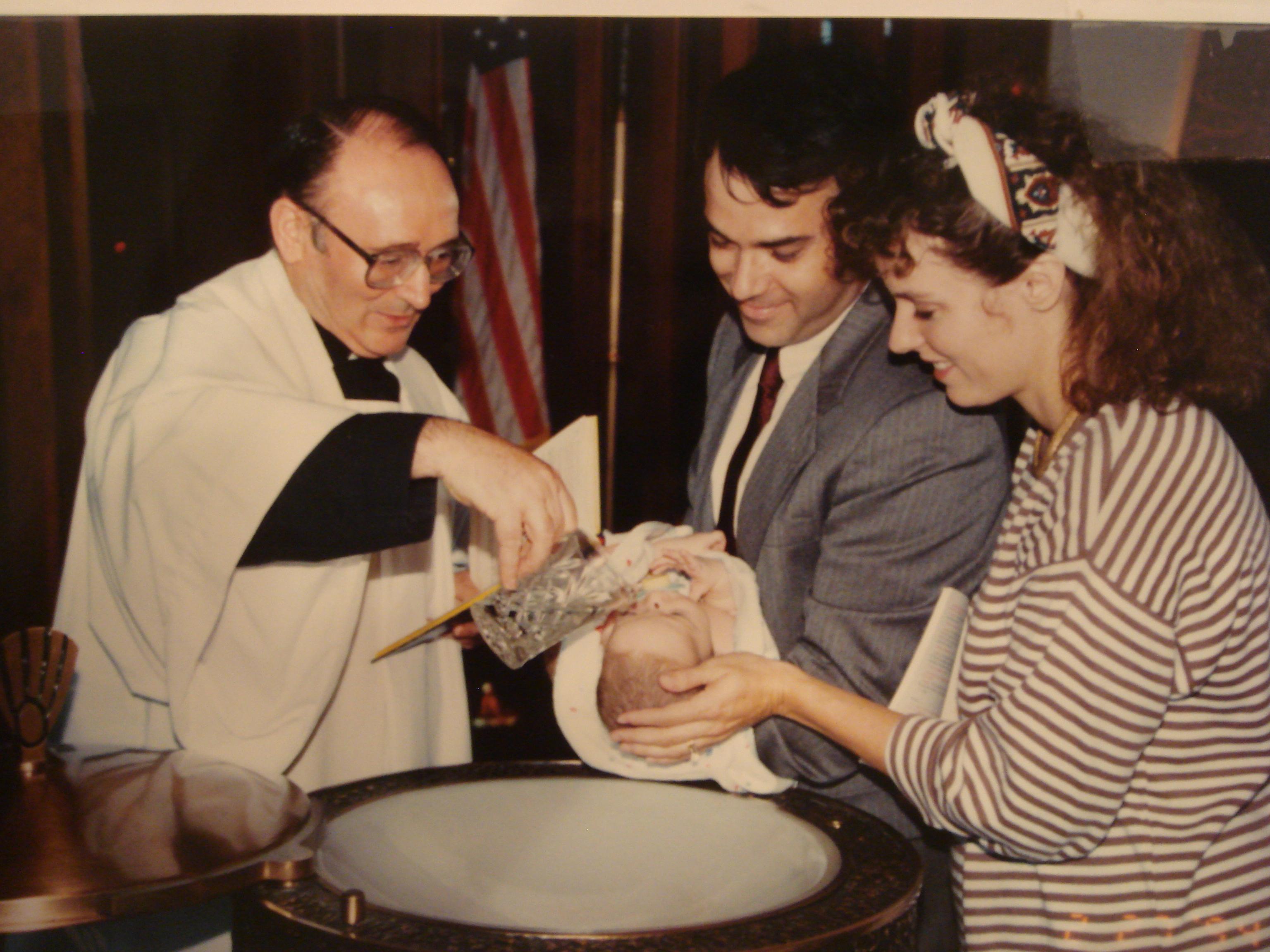Chrystus przez chrzest wprowadza człowieka w nowe stworzenie