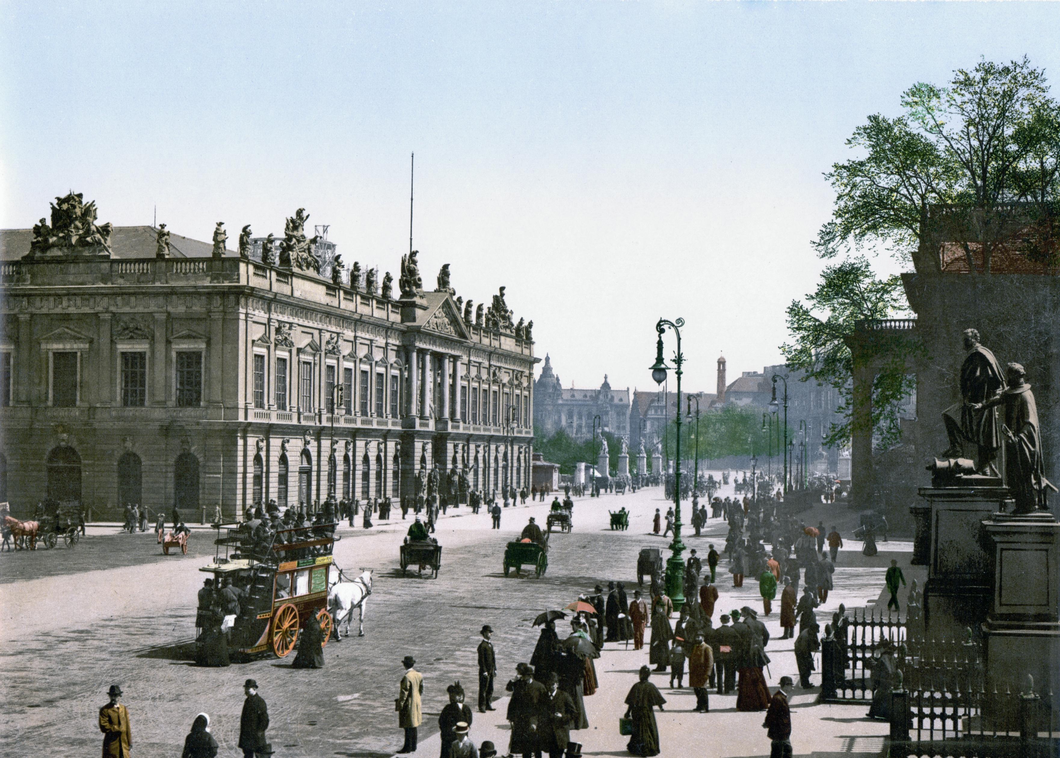 Le Centre Ville Historique De Potsdam