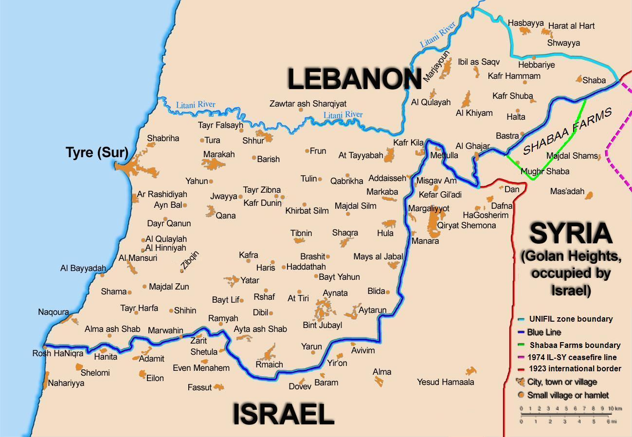Edward Said Wikipedia Free Residential Wiring Books A Map Showing Light Blue And Dark Line Between Lebanon Israel