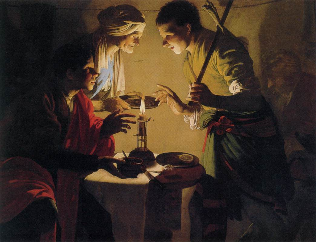 What did Jacob take when he took Esau's birthright?