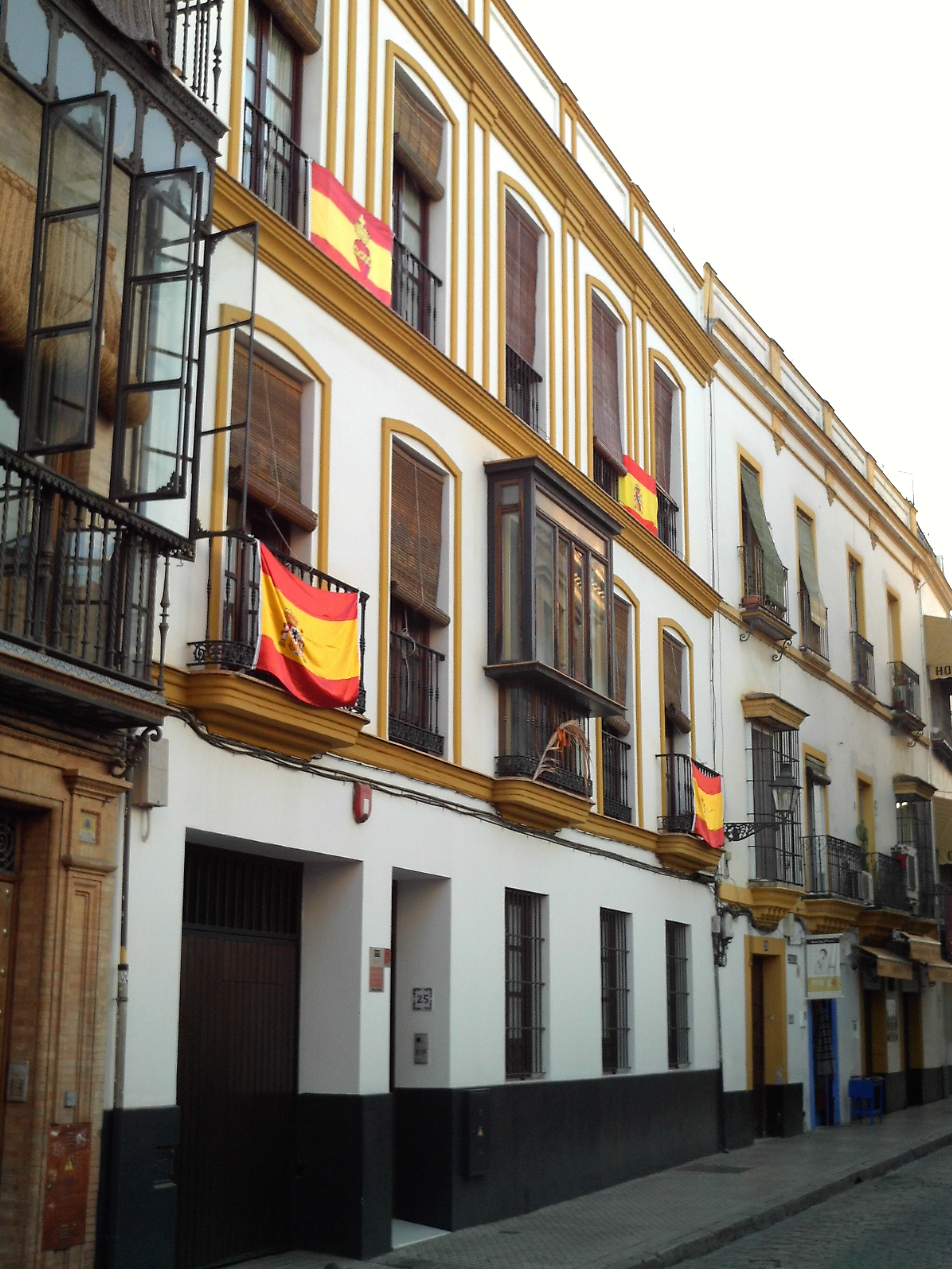 File Calle Mateos Gago Sevilla Jpg Wikimedia Commons